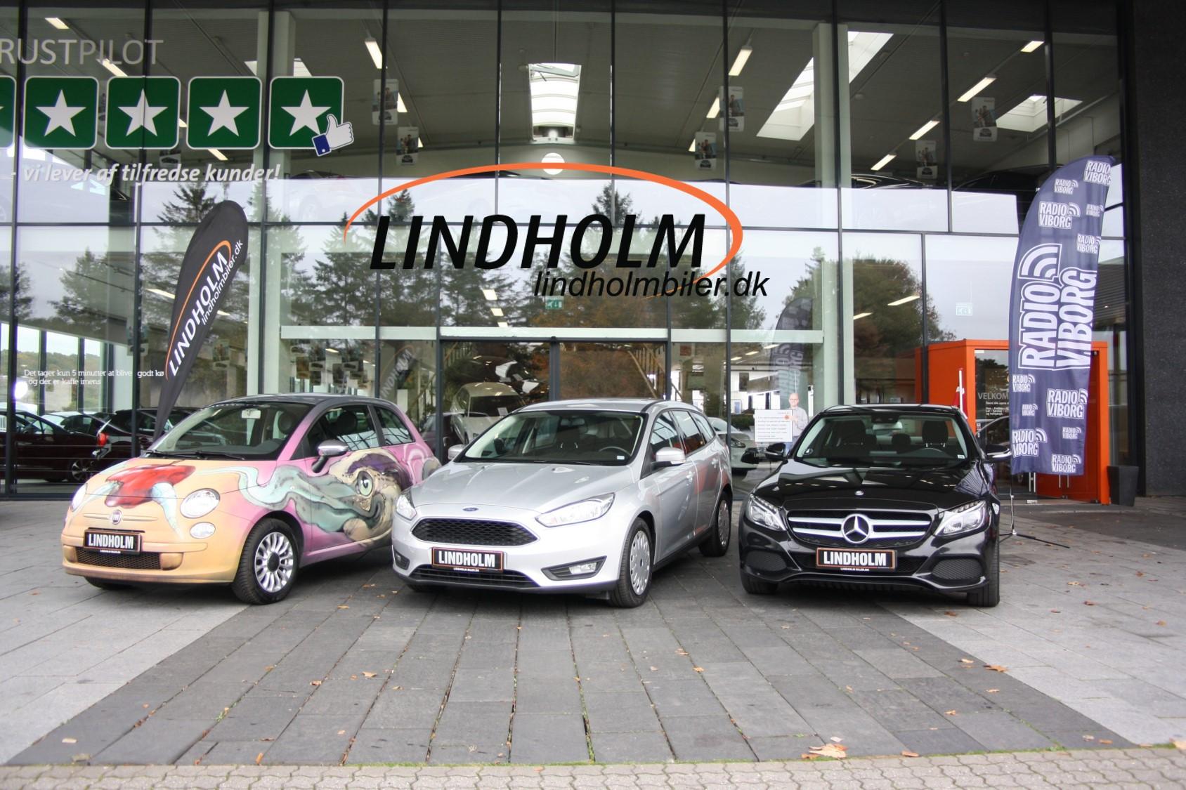 Erling vandt fri bil i et halvt år fra Lindholm Biler - Radio Viborg