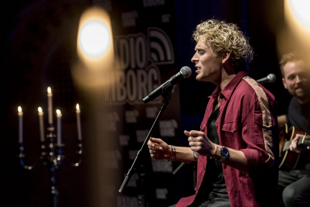 Mandag, den 25. februar 2019 Radio Viborgs intimkoncert med Christopher på Viborg Teater Foto: Morten Dueholm